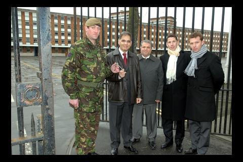 The MOD hand keys to Chelsea barracks to the Candy brothers